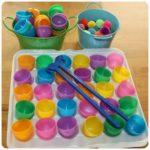 Занятие для детей: «раскраски» на яйцах