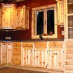 Кухонная мебель из вагонки